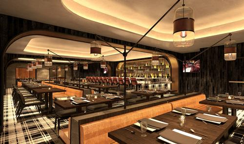 The Metropolitan Club will be a private restaurant with high-end finishes / Rockwell Group