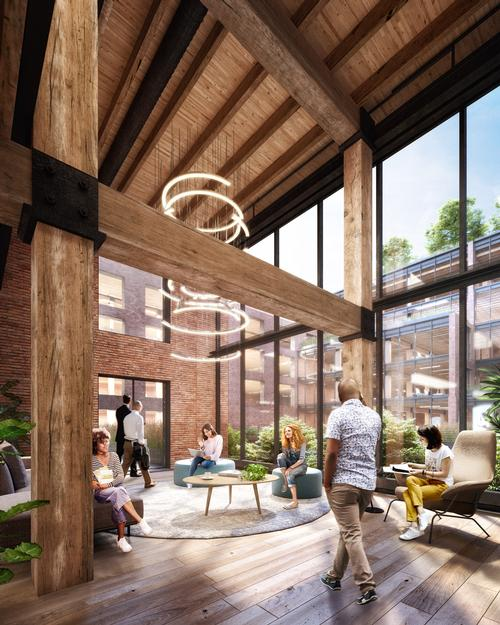 The Terminal Warehouse will become a mixed-use destination with retail units, hospitality outlets, open spaces and offices / COOKFOX Architects