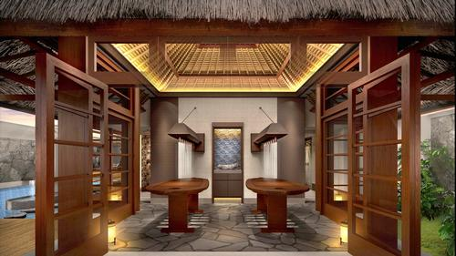 The spa will have a menu that fuses ancient local wisdom with modern awareness in healing