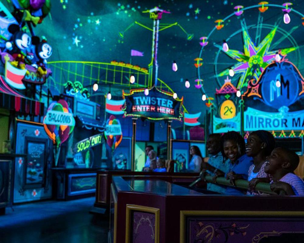 The ride is Disney's first Mickey Mouse-themed ride / ©Disney/Matt Stroshane