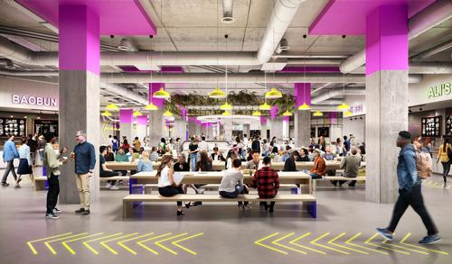 It will provide space for occupiers like pod hotels, urban farms, R&D labs and fitness clubs / Our Studio