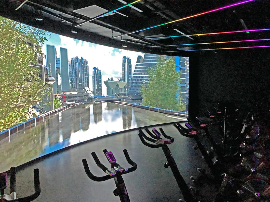 The first floor of the centre has been redeveloped and now features what has been described as 'Scotland's first fully immersive workout environment' / Alliance Leisure
