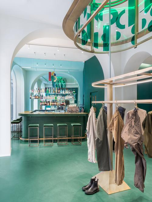 Drinks are served from a separate bar counter / Alessandro Saletta for DSL Studio