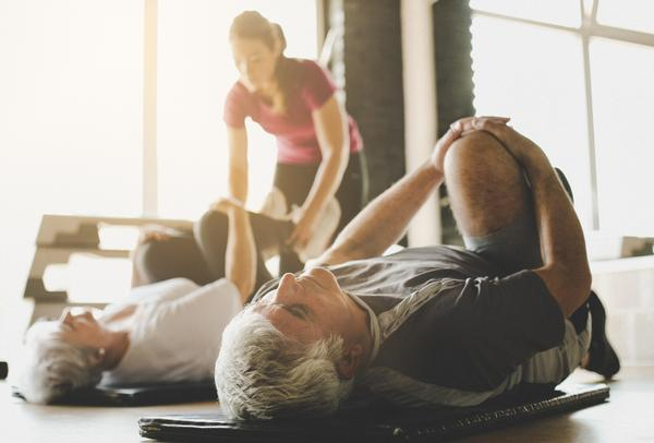 The fitness industry can start to reach out to those with long-term conditions / shutterstock