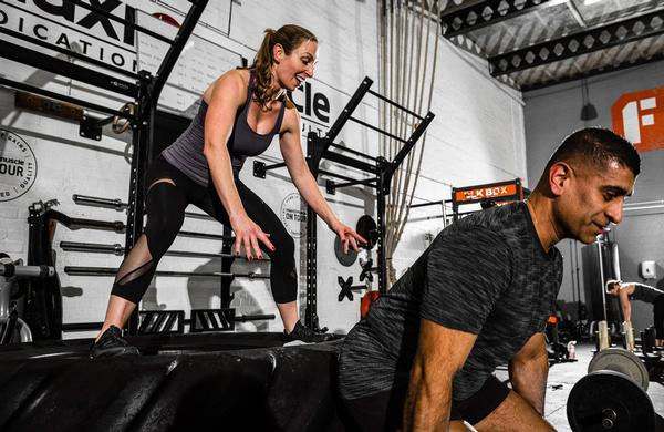 Semi-private PT sessions help members to get to know each other