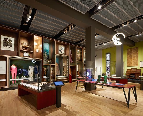 The Scottish Design Galleries feature around 300 exhibits telling the story of Scottish design