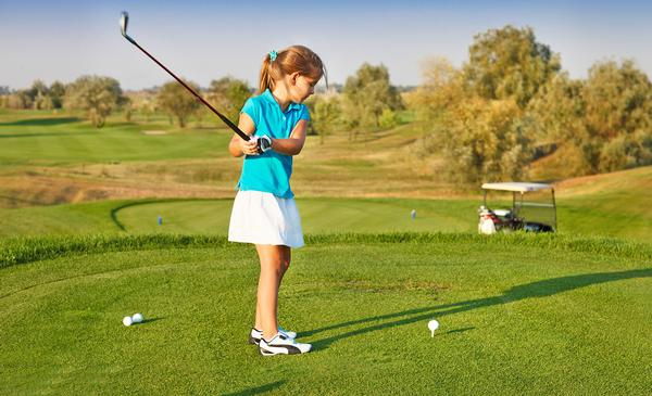 1,400 girls participated in Girls Golf Rocks in 2018 / © shutterstock/Dasha Petrenko