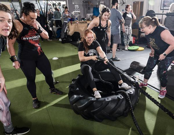 The brand's Combine class puts members into competing teams