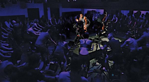 Home workout bike supplier Peloton live streams classes from gyms and studios