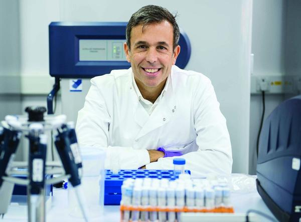 The testing method has been developed at the University of Brighton by a team led by Yannis Pitsiladis