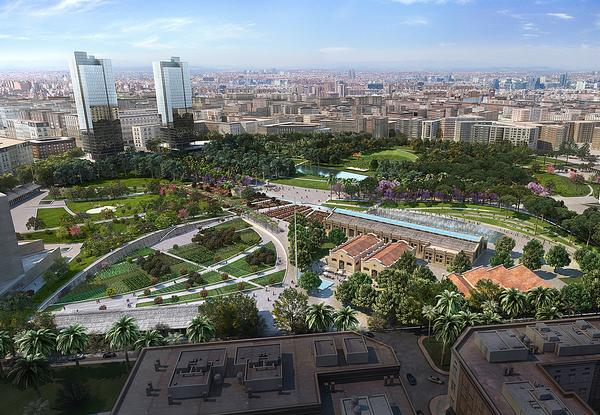 The Valencia Parque Central project is approaching completion