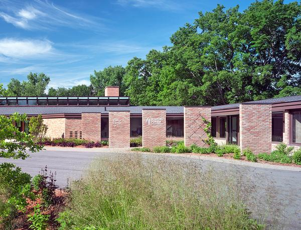 The midcentury modern Whiting Residence