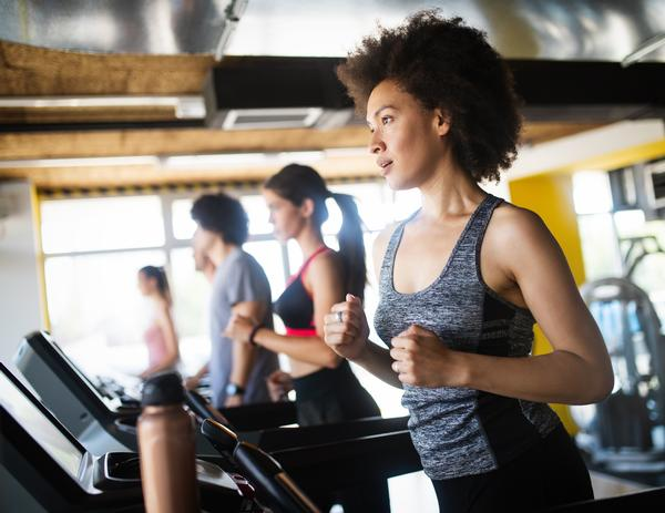 Treadmills remain the most popular piece of equipment in the gym / shutterstock