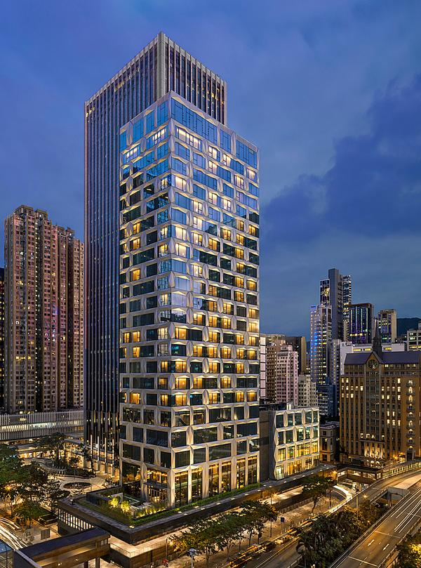 The 27-storey hotel opened in March