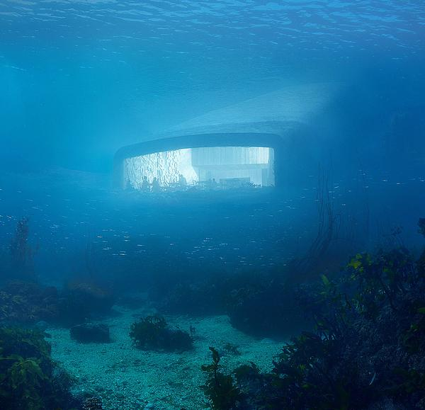 Underwater architecture: Going deep