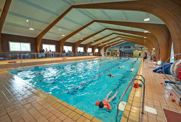 The trust has a partnership with a local charitable group, and is now operating its swimming pool