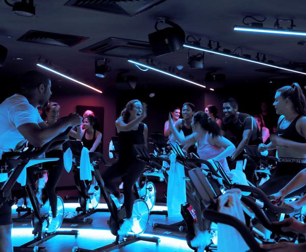 The signature 'Ride' class is high-energy and high-entertainment