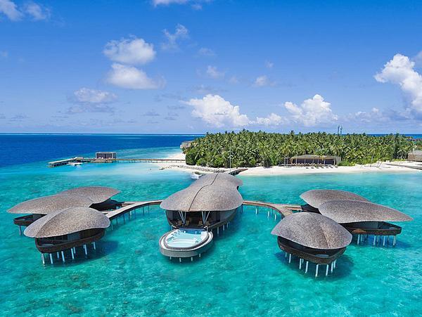 The St Regis Maldives resort was designed around local ecologies
