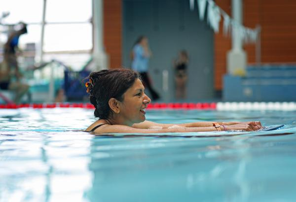 Patients referred to aqua health schemes report less pain and better mental health