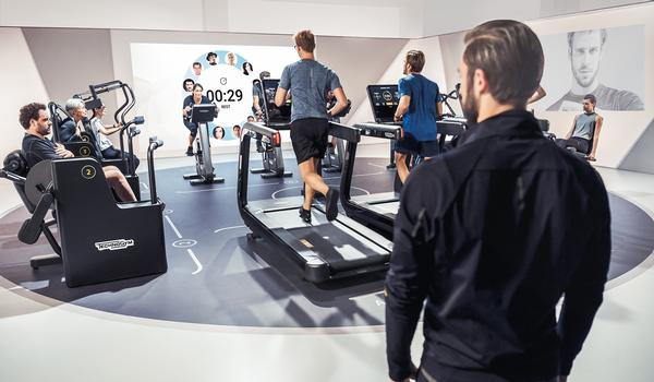 The Technogym Biocircuit enables operators to deliver customised 22- and 30-minute workouts