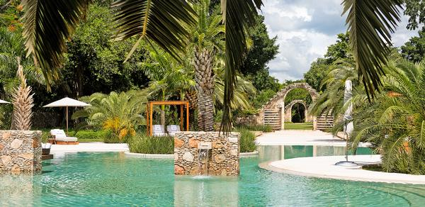 The resort has been designed to highlight the beautiful surroundings