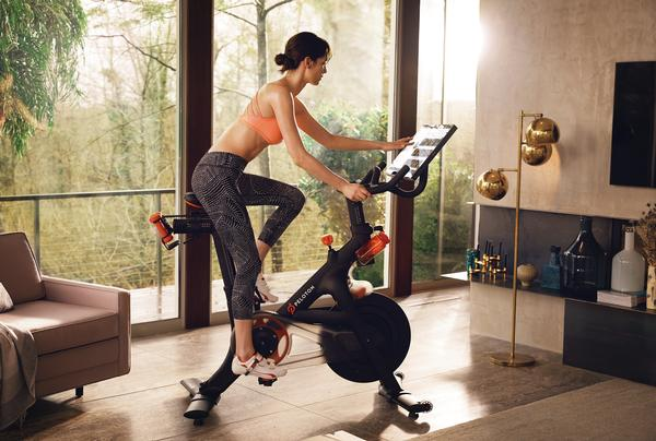Companies like Peloton are harnessing screen power to offer engaging fitness options