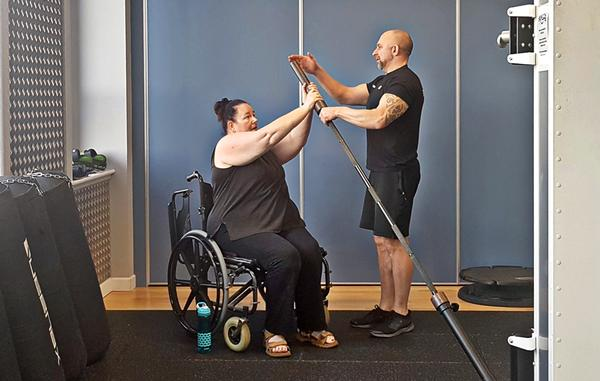Rigs open up exercise to those who are older or have limited mobility