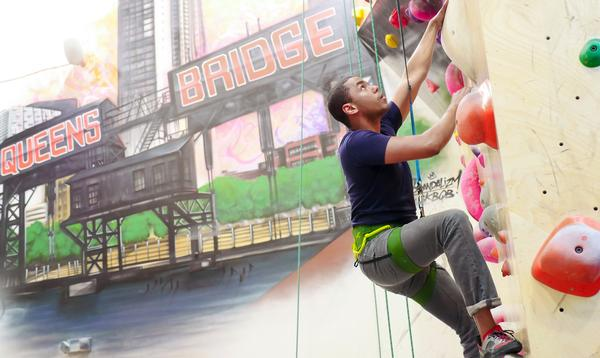 There are four Brookyn Boulders clubs across the US