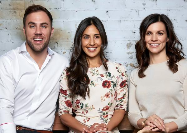 Founders Kane Sarhan, Rebecca Parekh and Sarrah Hallock opened The Well in summer 2019