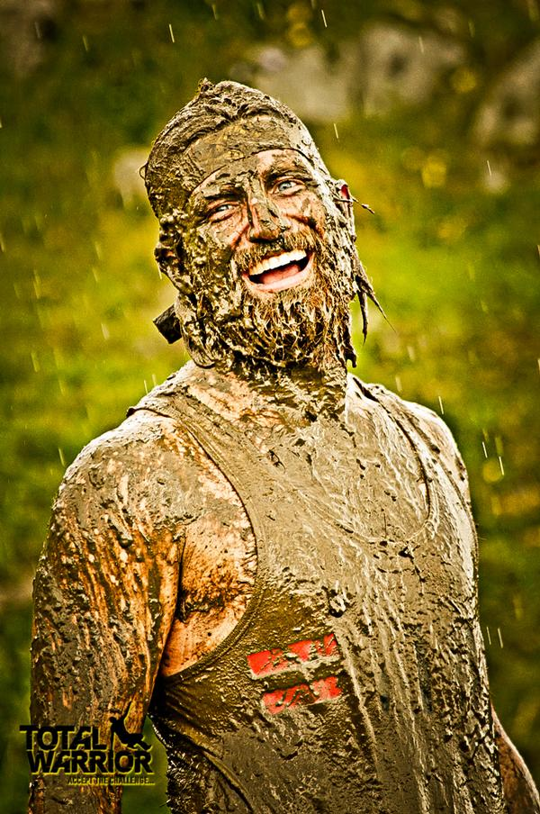 Mud is an essential ingredient of obstacle course racing events