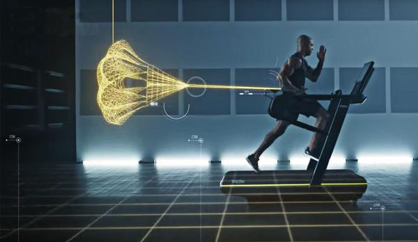 Technogym's Skillrun has been adapted to offer both sled and parachute training modes