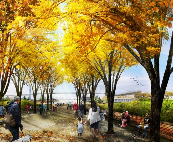 MVVA are leading the design of the Ralph C. Wilson Jr Centennial Park / Image: MVVA