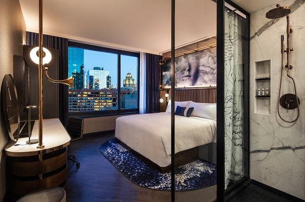 Hotel EMC2 is part of Marriott's Autograph Collection, where no two hotels are the same