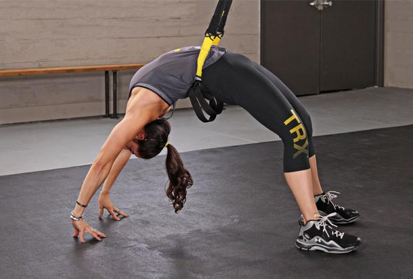 TRX aims to enhance yoga by incorporating suspension training