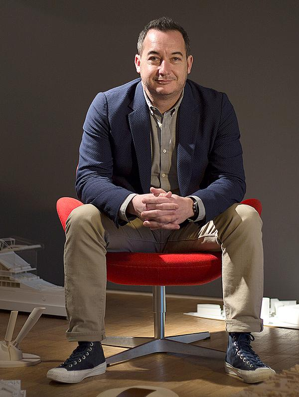 Populous' Christopher Lee has designed more than 30 stadia across five continents