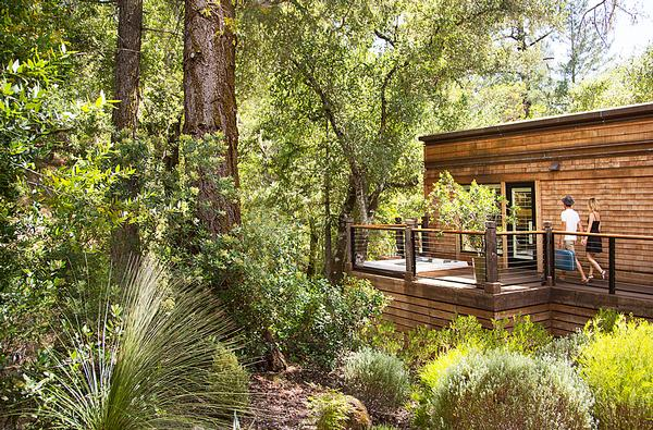 Scott and Tracy Lee met while working on Calistoga Ranch, US