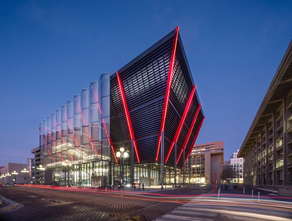 The International Spy Museum is RSHP's first cultural building in the US