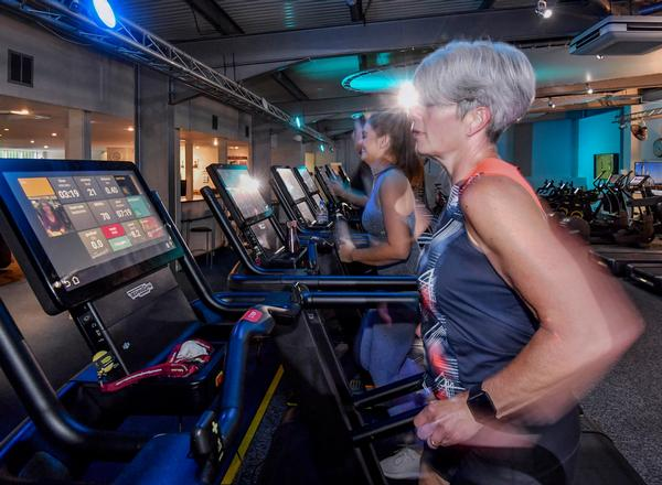 The new layout powered by Technogym has enabled Odyssey to attract a wider range of member demographics