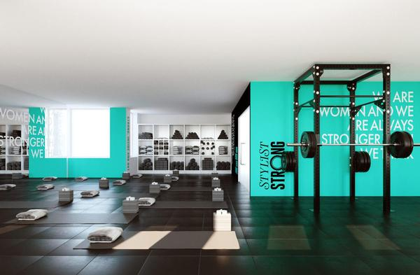 The new Stylist Strong studio will specialise in class-based strength training for women