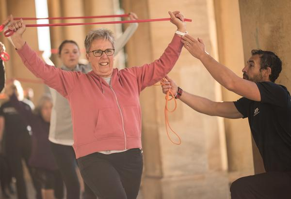 The Active programme is for beginners, including older adults