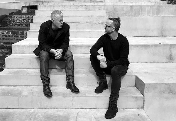 The architects Dean Mackenzie and Hamish Monk