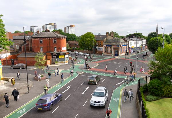 Greater Manchester is transforming its streets to encourage people to walk or cycle rather than drive. Olympian Chris Boardman is leading a £160m investment in cycling infrastructure