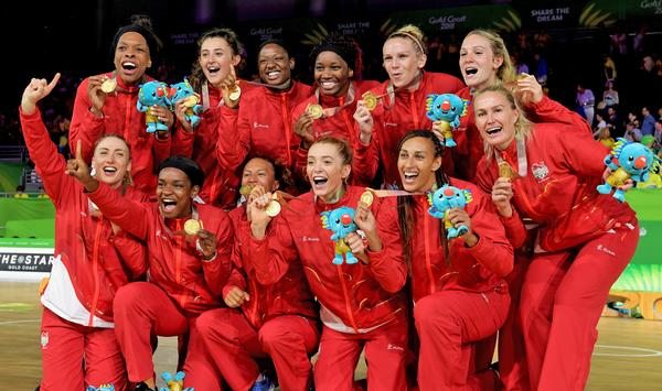 As well as working with Team GB, the EIS also supports England Netball, which won Gold at the 2018 Commonwealth Games / © TRACEY NEARMY/AAP/PA Images
