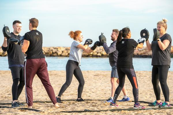The bootcamp's location offers endless chances for outdoor training