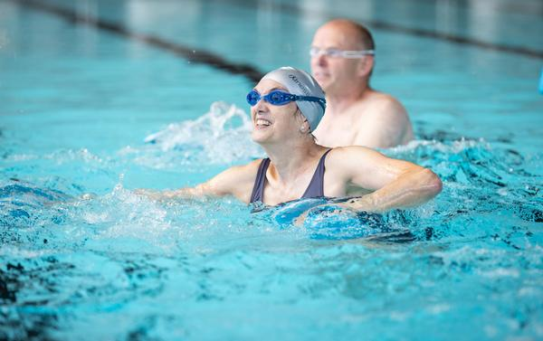 Participants don't need to be able to swim to get benefit from aqua classes