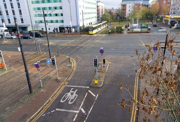 Before and after: Merchants Quay will make provision for cyclists, trams, pedestrians and vehicles