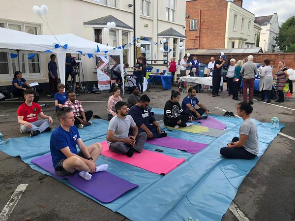 The Clarendon Lodge Club launch saw operators such as Everyone Active offering activity tasters