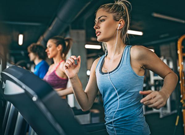 Treadmills remained the number one attraction at US health clubs, used by 43 per cent of total members / PHOTO: SHUTTERSTOCK/gutesa