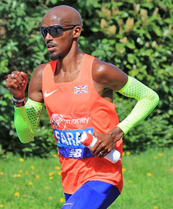 Mo Farah has benefitted from altitude training / shutterstock