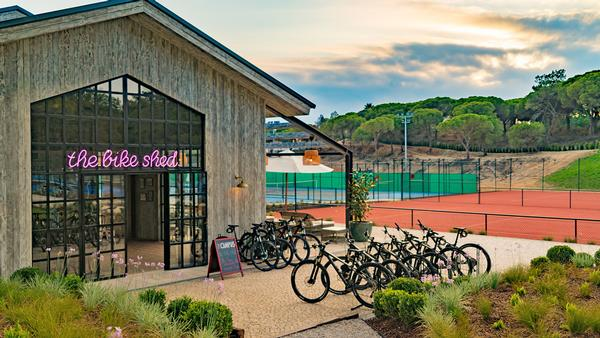 The Bike Shed was built in the first phase of Quinta do Lago's new development